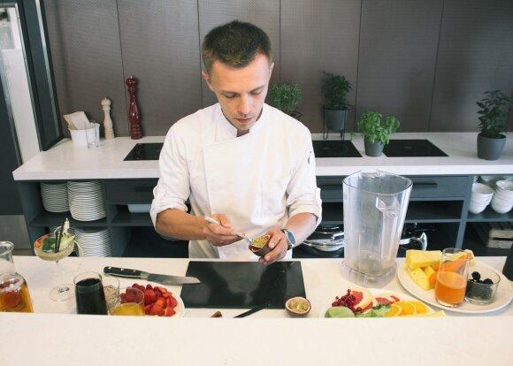 Virtuvės šefas Jevgenijus Volkovas