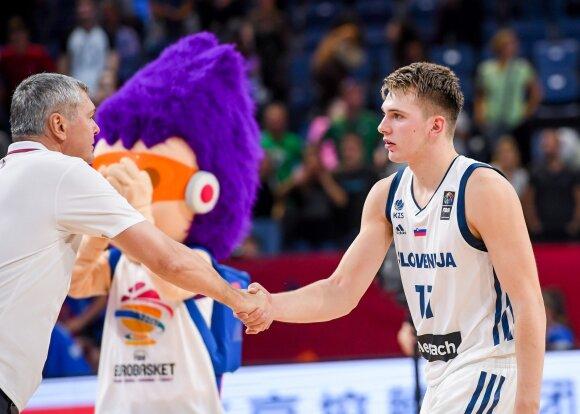 Ainaras Bagatskis (kairėje) ir Luka Dončičius