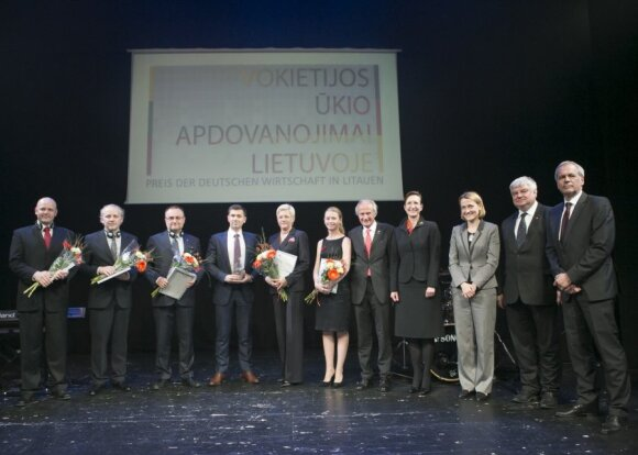 Shortlisted finalists. Photo by Vincas Alesius, AHK Baltic States