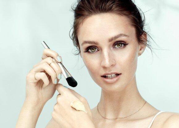 Kaip pasitelkus grožio priemones sukurti nepriekaištingą veido odos atspalvį