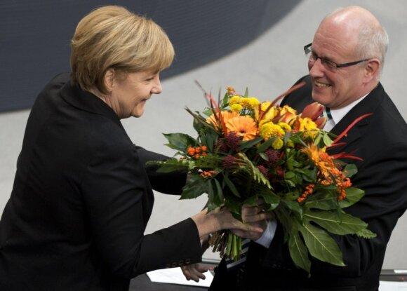 A. Merkel patvirtinta poste trečiajai ketverių metų kadencijai