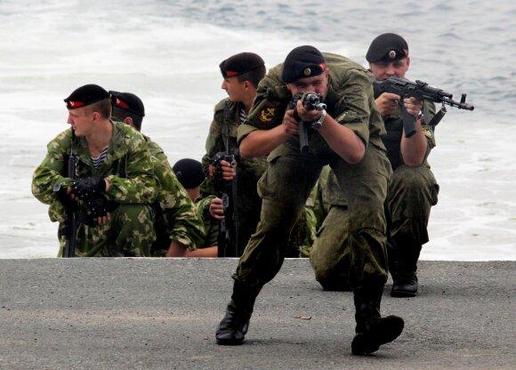 Rusijos jūrų pėstininkai