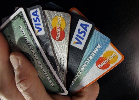 Yla iš maišo: sekami visi mokėjimo kortelių savininkai?
