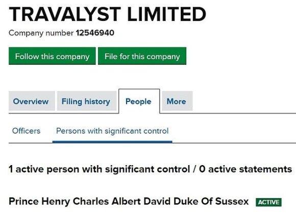 Princas Harry užregistravo labdaros fondą