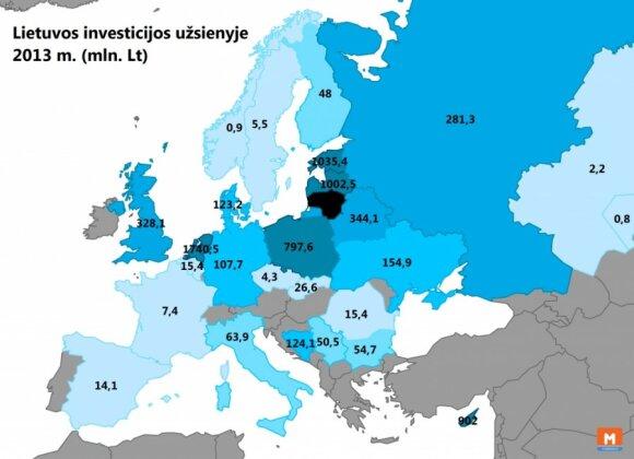 Litewskie inwestycje zagranicą. Foto: mapijozai.lt