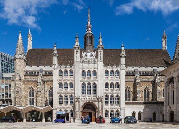 """Londono """"Guildhall"""" rūmai"""