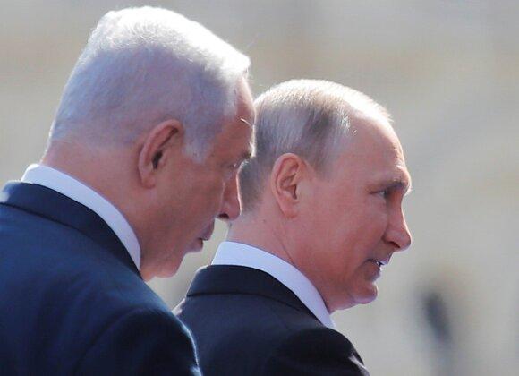 Benjaminas Netanyahu, Vladimiras Putinas