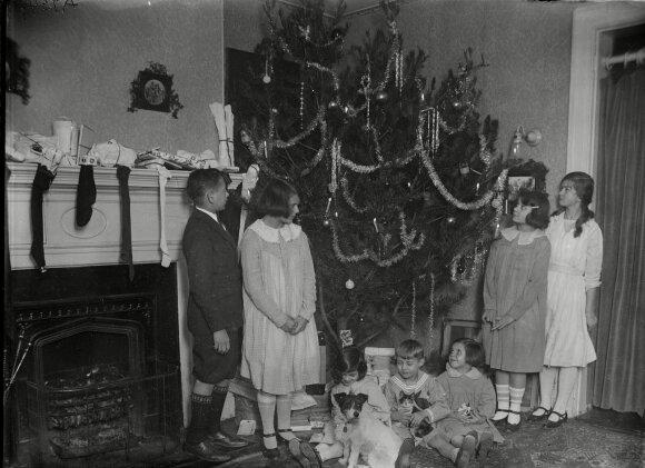 JAV šeima 1923 metais