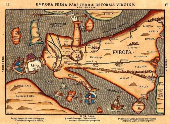 Europa 1582