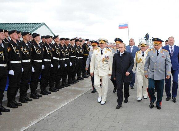 V. Putino vizitas Kaliningrade