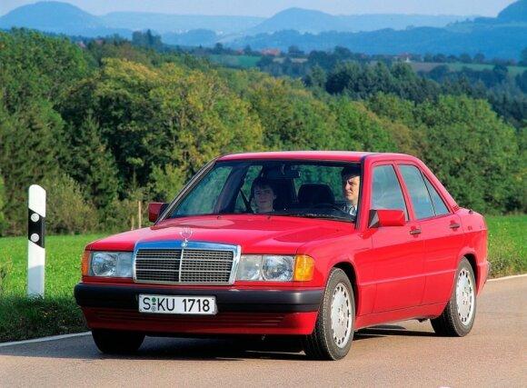 Mercedes-Benz 190E (1984 m.)