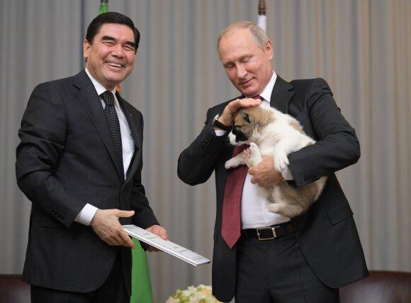 Vladimiras Putinas, Gurbangulis Berdimuchamedovas