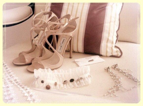Vaidos Poderytės pasiruošimas vestuvėms