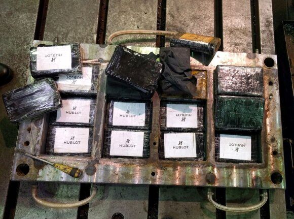 Суд в Литве: гражданин России подозревается в контрабанде кокаина на 49 млн евро