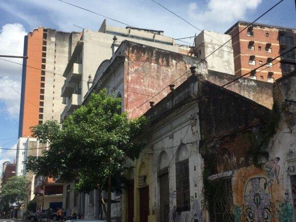 Vaizdai iš Paragvajaus sostinės Asunsjono - kupini kontrastų