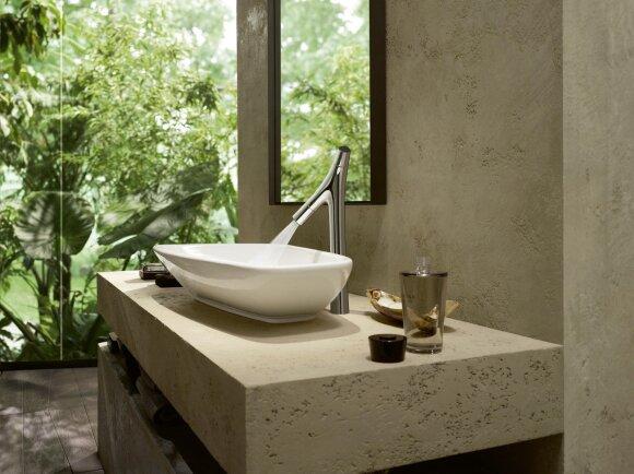 Axor maišytuvas Starck Organic. Salonas Vonios dizaino namai. Domus galerija
