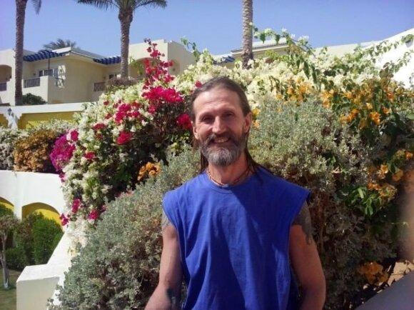 Angelų terapija gydantis ukrainietis: reikia mokėti prašyti