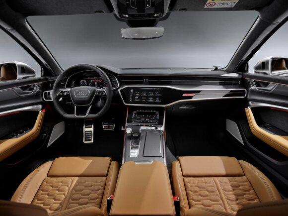 """""""Audi"""" pristatė ketvirtos kartos """"RS6 Avant"""""""