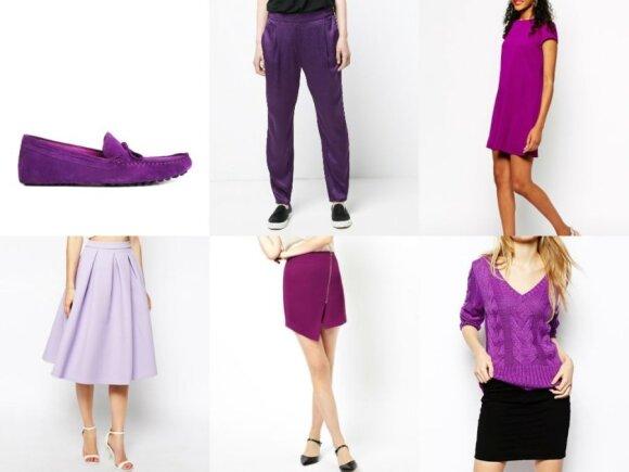 "Bateliai ""Asos"", kelnės ""Mango"", suknelė ""River Island"", sijonai ""Asos"", megztinis ""Fred Perry"", asos.com, Ltd ir mango.com"