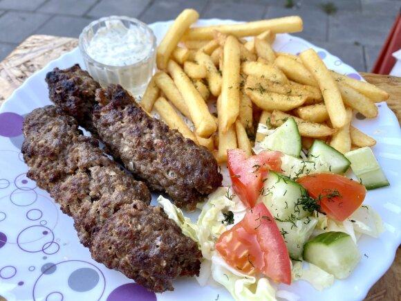 Andrius Užkalnis vertina Šafran Kebab Mangal