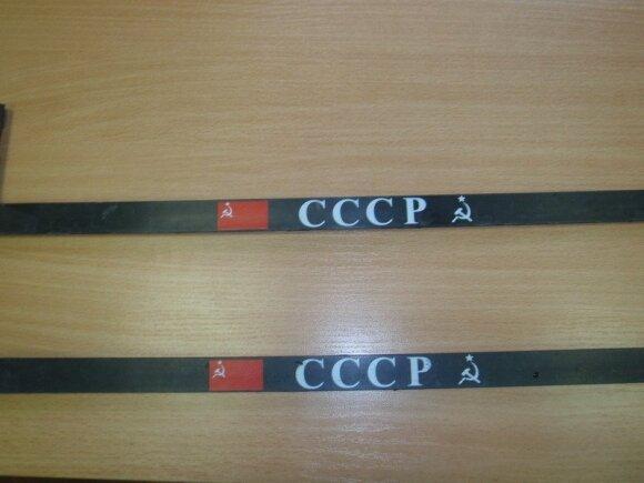 Sovietinė simbolika ant automobilio