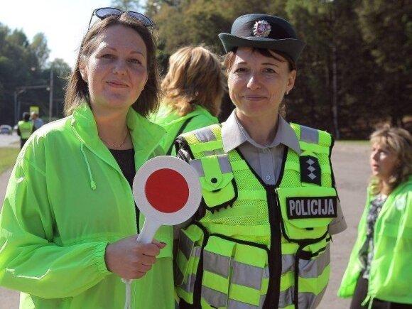 Reda Žaromskytė (kairėje)