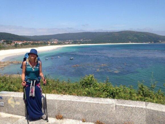 Viena pėsčiomis 900 km: moteris, kuri nebijo nieko ir imasi visko