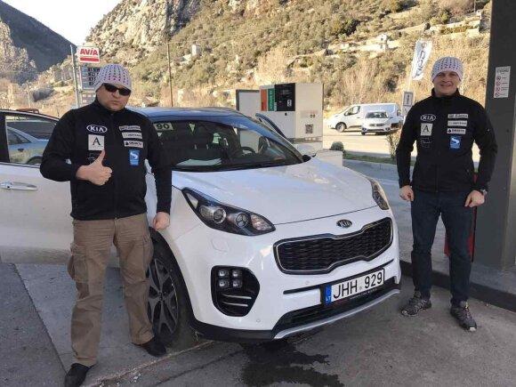 D. Jocius ir D. Zvicevičius Monte Karle