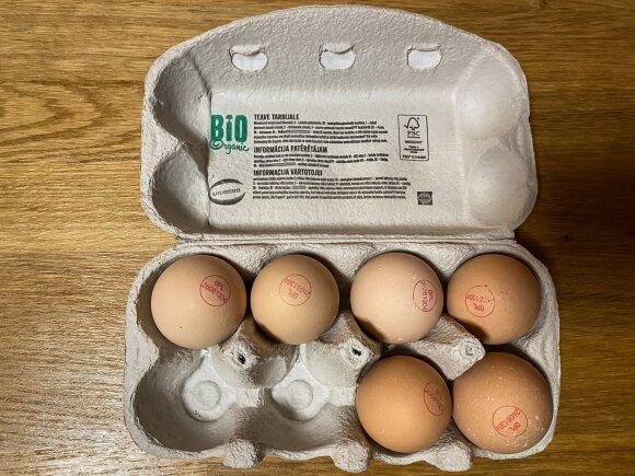Eksperimentas: virti kiaušiniai