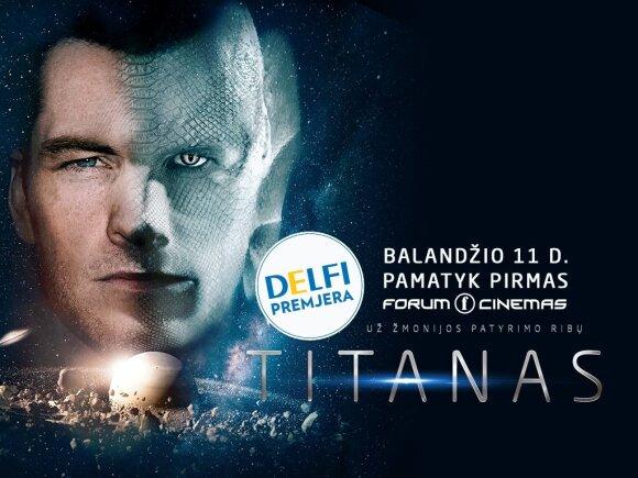"""DELFI premjera: filmas """"Titanas"""""""