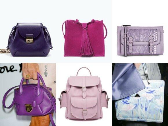 """Rankinės: """"Zara"""", """"Zara"""", """"Asos"""", zara.com ir asos.com; Anna Dello Russo su rankine; Kuprinė """"Grafea"""", asos.com ir """"Emporio Armani"""""""