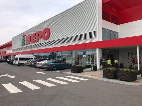 Kaune atidaryta Depo