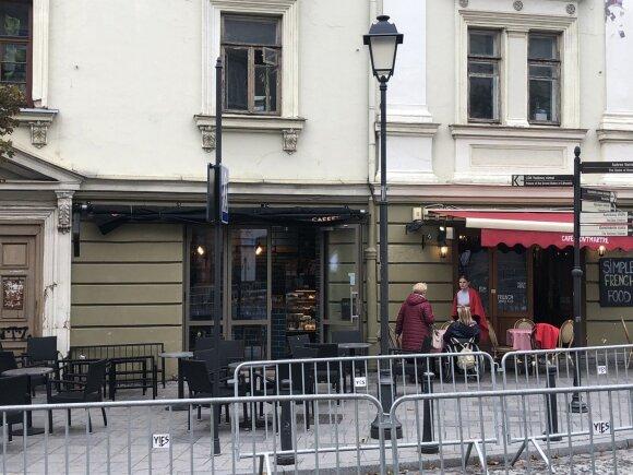 Kavinės Didžiojoje gatvėje, Vilniuje