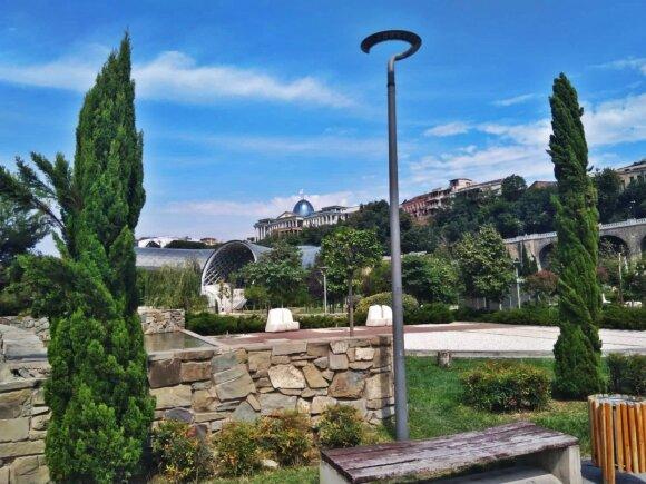 Tbilisio egzotiški vaizdai