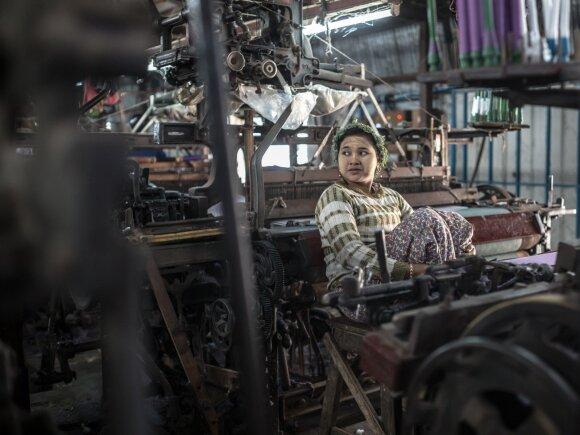 Siuvėja Mianmare