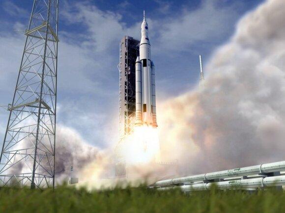 NASA raketos SLS projektas
