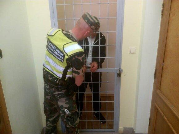 Lietuvos pasieniečiai sulaikė beveik metus ieškomą Baltarusijos pilietį
