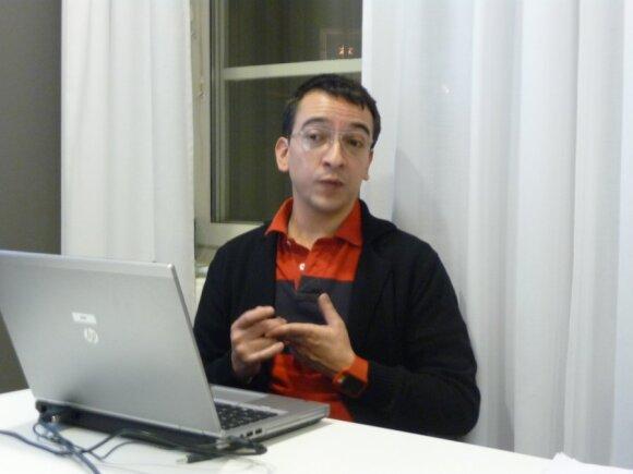 Švedijos Vaikų ombudsmeno tarnybos projektų vadovas Jorge Rivera