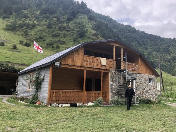 Гостевой дом в Шатили