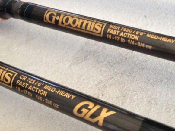 """Legendiniai Gario kurti meškerių blankai, pavadinimu"""" GLX"""""""