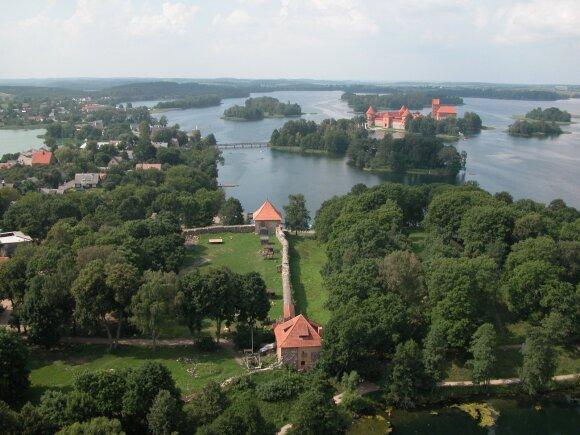 Trakų pusiasalio pilis (Trakų istorijos muziejaus nuotr.)