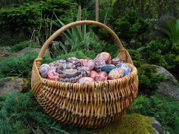 Tautodailininkė A.Lampickienė: kiaušinių marginimas prilygsta meditacijai