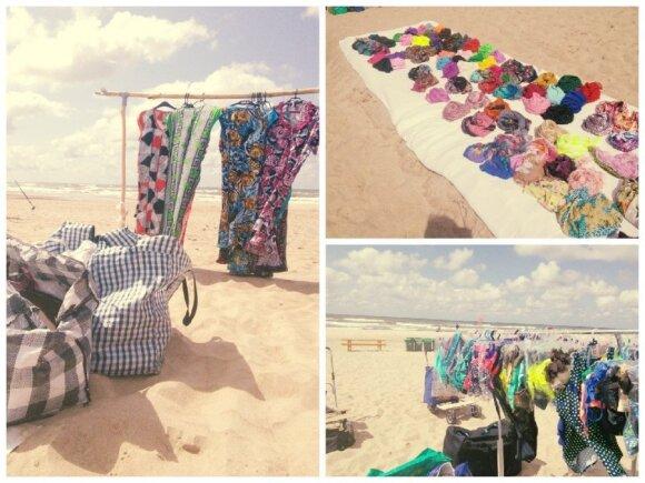 Moterų pliažo turgus