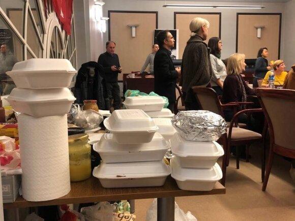 Mokytojams perduotas maistas