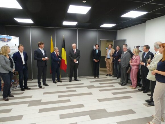 Lithuania opens its new Honorary Consulate in Belgium. Photo MFA