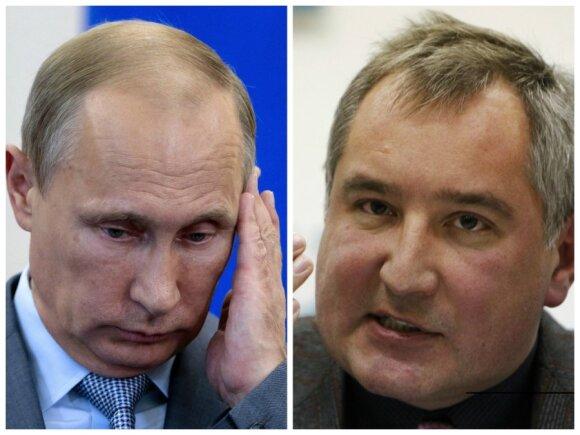 """<span style=""""color: #ff0000;"""">V. Putino Rusija.</span> D. Rogozino klanas – pagrindiniai agresijos prieš Ukrainą architektai"""