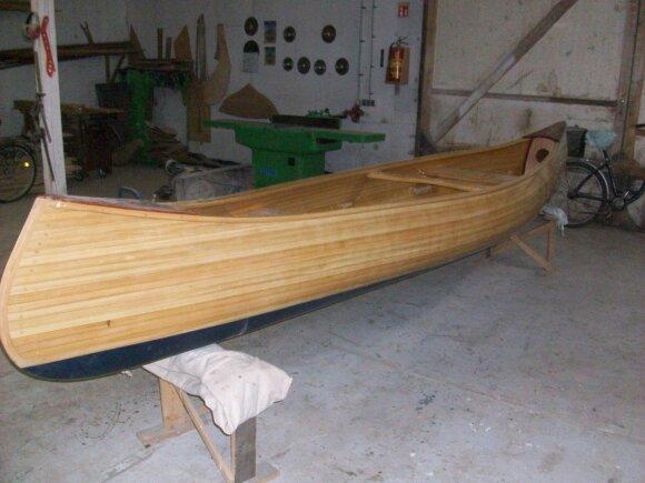 Vilkaviškiečių statyti laivai