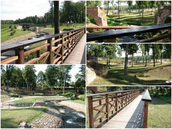 Viešvilės parko infrastruktūros įrengimas Viešvilės miestelyje