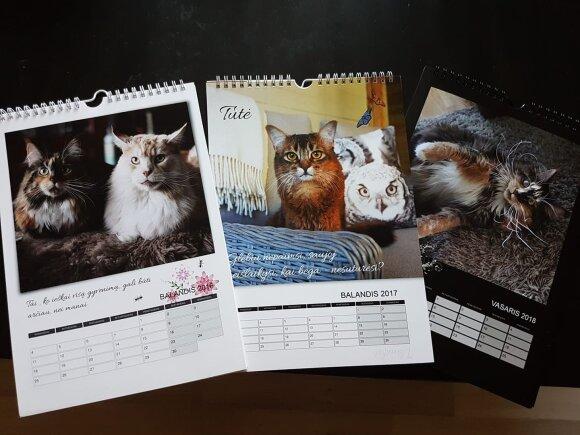 Kristinos Rusienės kalendoriai