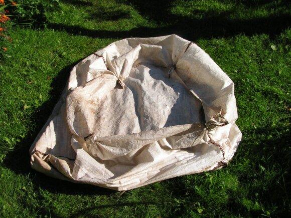 Kompostavimas maišuose